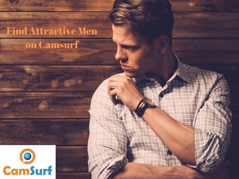 Attractive men on Camsurf